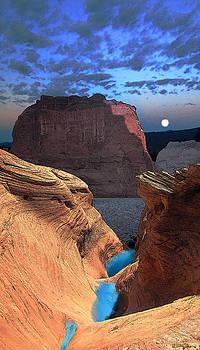 Free Climbing Glen Canyon by Ric Soulen