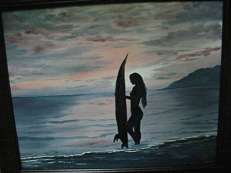 Freedom Surfer by Kathy Livermore