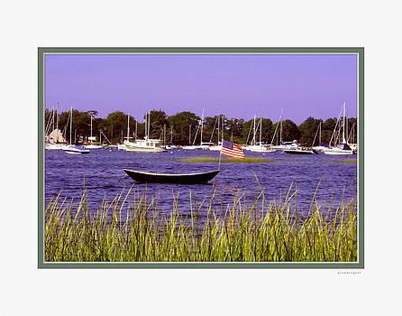 Freedom Bristol Harbor RI by Tom Prendergast