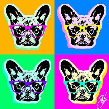 French Bulldog Pop Art by Steve Will