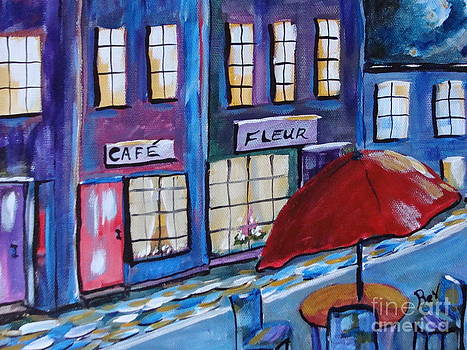 French Cafe by Beverly Livingstone