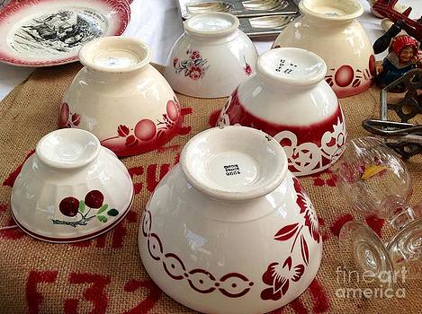 French Cafe Bowls by France  Art