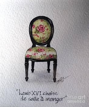 French Chair by Sandra Phryce-Jones