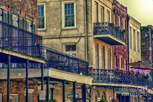 Kathleen K Parker - French Quarter Balconies and Bubbles