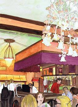 French Quarter Dining-Coffee Pot Restaurant by June Holwell