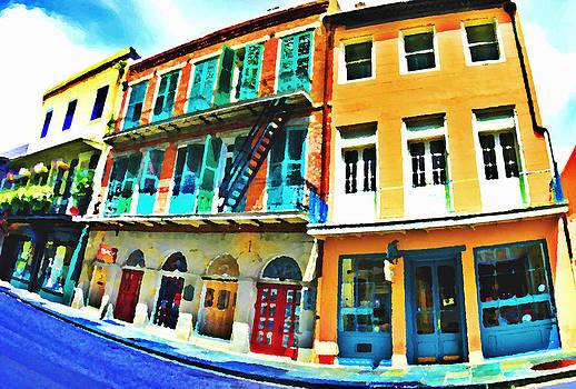 French Quarter Shops Photo Paint by Kyle Ferguson
