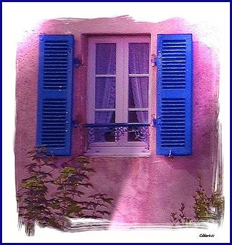 French Shutters by Gra Howard