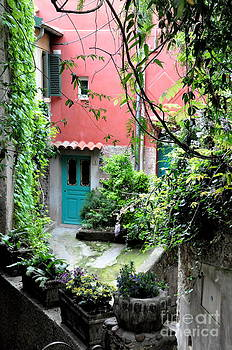 French Village Courtyard  by Tanya  Searcy