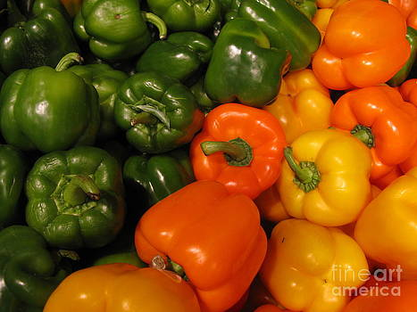 Fresh market series. Green and Orange by Ausra Huntington nee Paulauskaite