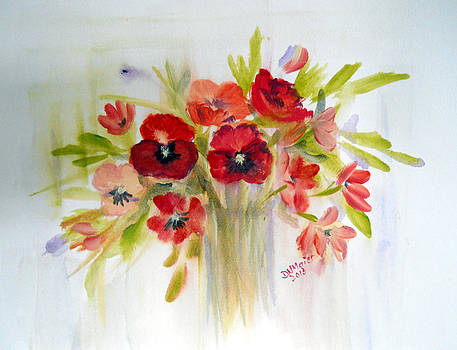 Fresh Spring Bouquet by Dorothy Maier