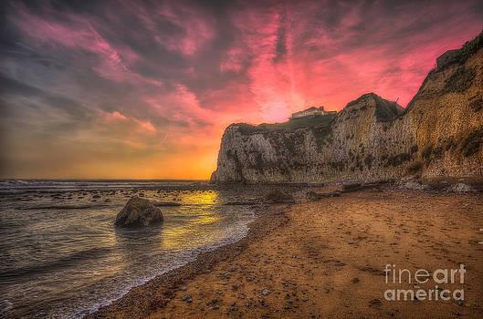 English Landscapes - Freshwater Redoubt Sunset