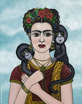 Frida In The Sky by Victoria De Almeida