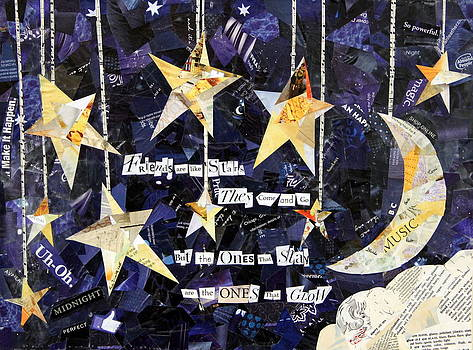 Friends are like Stars by Paula Dickerhoff