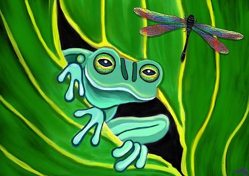 Nick Gustafson - Frog and Dragonfly 2