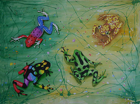 Frog Dance by Laurie Penrod