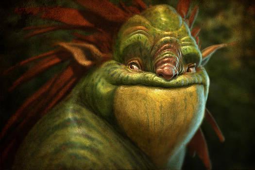 Frogman by Aaron Blaise