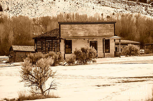 From Saloon to Store Front and Home in Sepia by Sue Smith