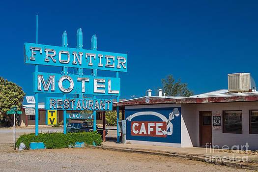 Frontier Motel by Juergen Klust