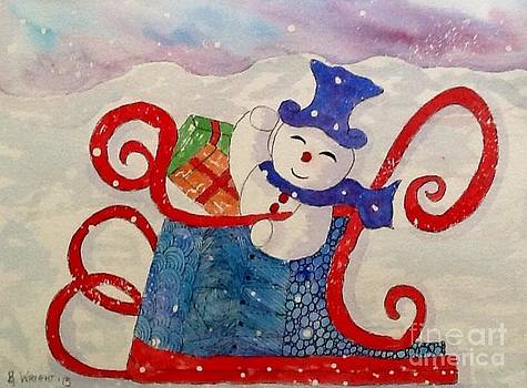 Frosty In His Sleigh2 by Bonnie Wright