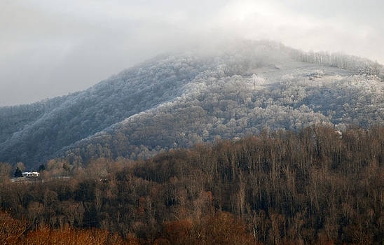 Frosty Mountain by Cecile Brion