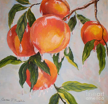Frosty Peaches by Carole Powell