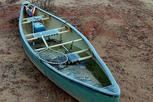 Frozen Boat by Pete Dionne