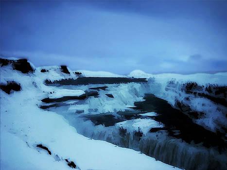 Frozen Falls of Iceland by    Michaelalonzo   Kominsky