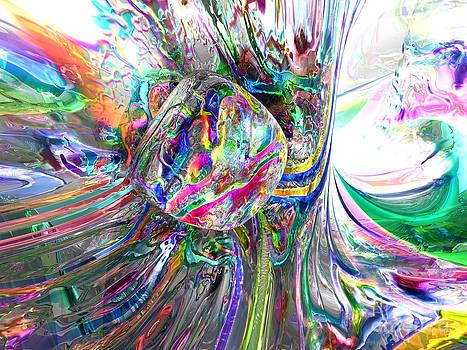 Alexander Butler - Frozen Rainbows Abstract