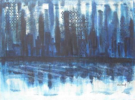 Frozen Skyline by Diane Pape