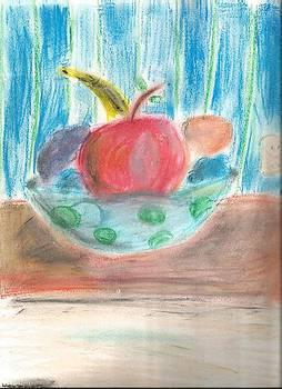 Fruit Bowl by Sidney Meyers