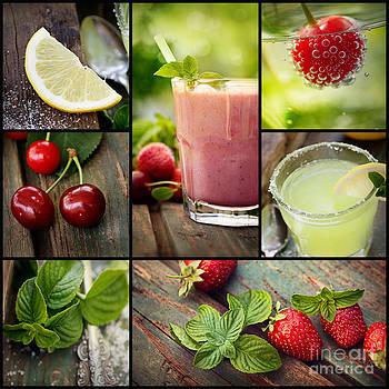 Mythja Photography - Fruit drinks collage