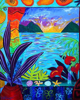 Fruit Salsa Sunrise by Beth Cooper
