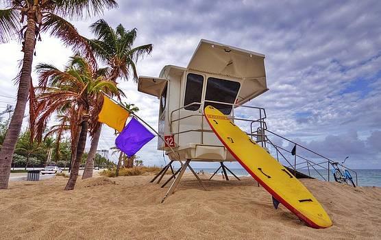 Ft. Lauderdale Lifeguard Station II by DM Photography- Dan Mongosa