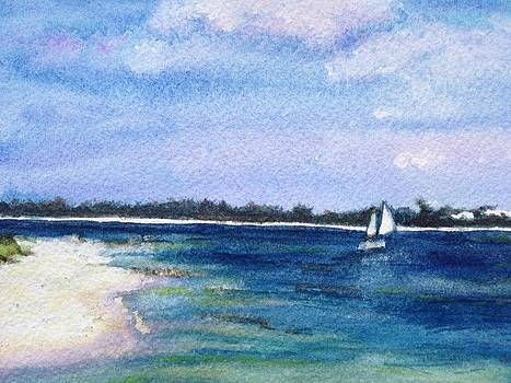 Ft. Pickens Beach by Carol Warner