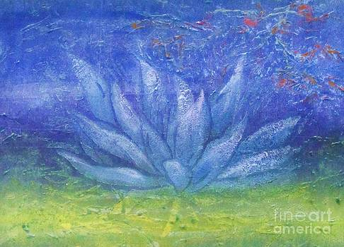 Full Moon Lotus by Beth Fischer