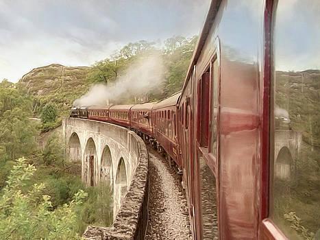 Full steam ahead by Roy  McPeak