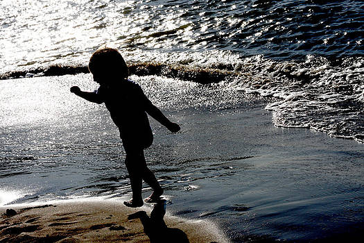 Fun at the Beach by Jennifer Muller
