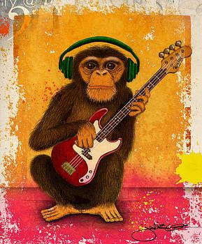 Funky Monkey by Julie Oakes