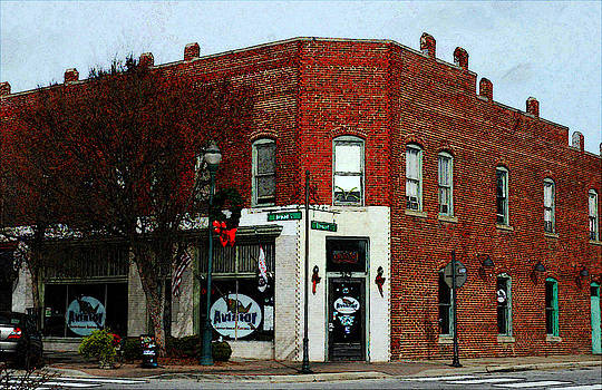 Fuquay Varina Downtown Series by DM Werner