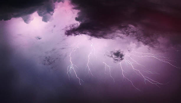 Fury Of Lightning Bolts by David Kittrell