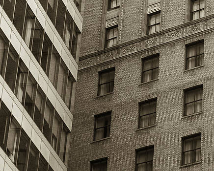 Futures Past - Architecture Abstract  by Steven Milner