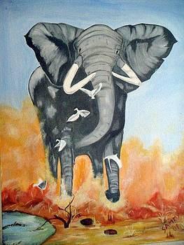 Gaint With Grace by Samhita Bhushan