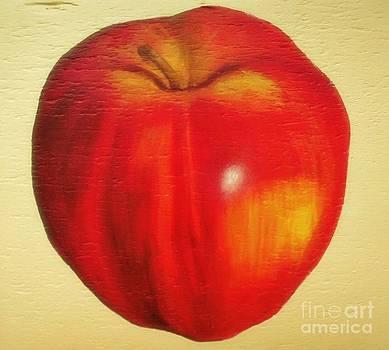Gala Apple by Rachel Dunkin