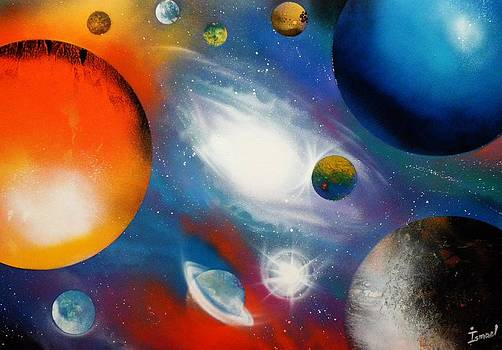 Galaxia by Ismael Paint