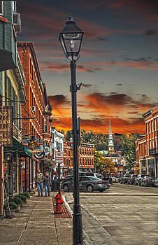 Randall Branham - Galena Illinois down town shops