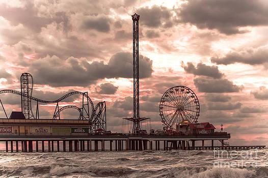 Galveston Island Morning by Robert Frederick