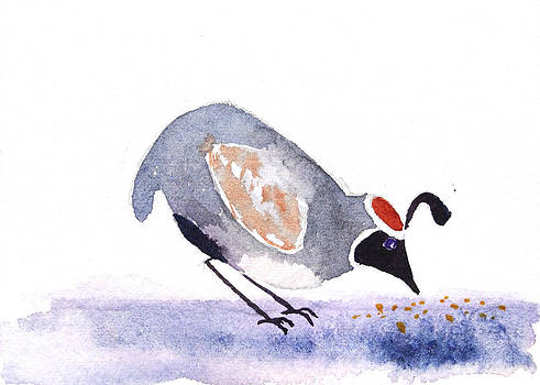 Gambels Quail 3 by Renee Chastant