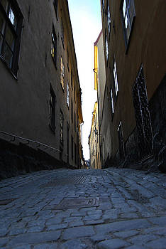 Gamla Stan street by Frederico Borges