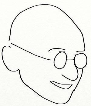 Gandhi by Shiva G
