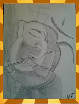 Ganesh  by Dugsa  Dugsa